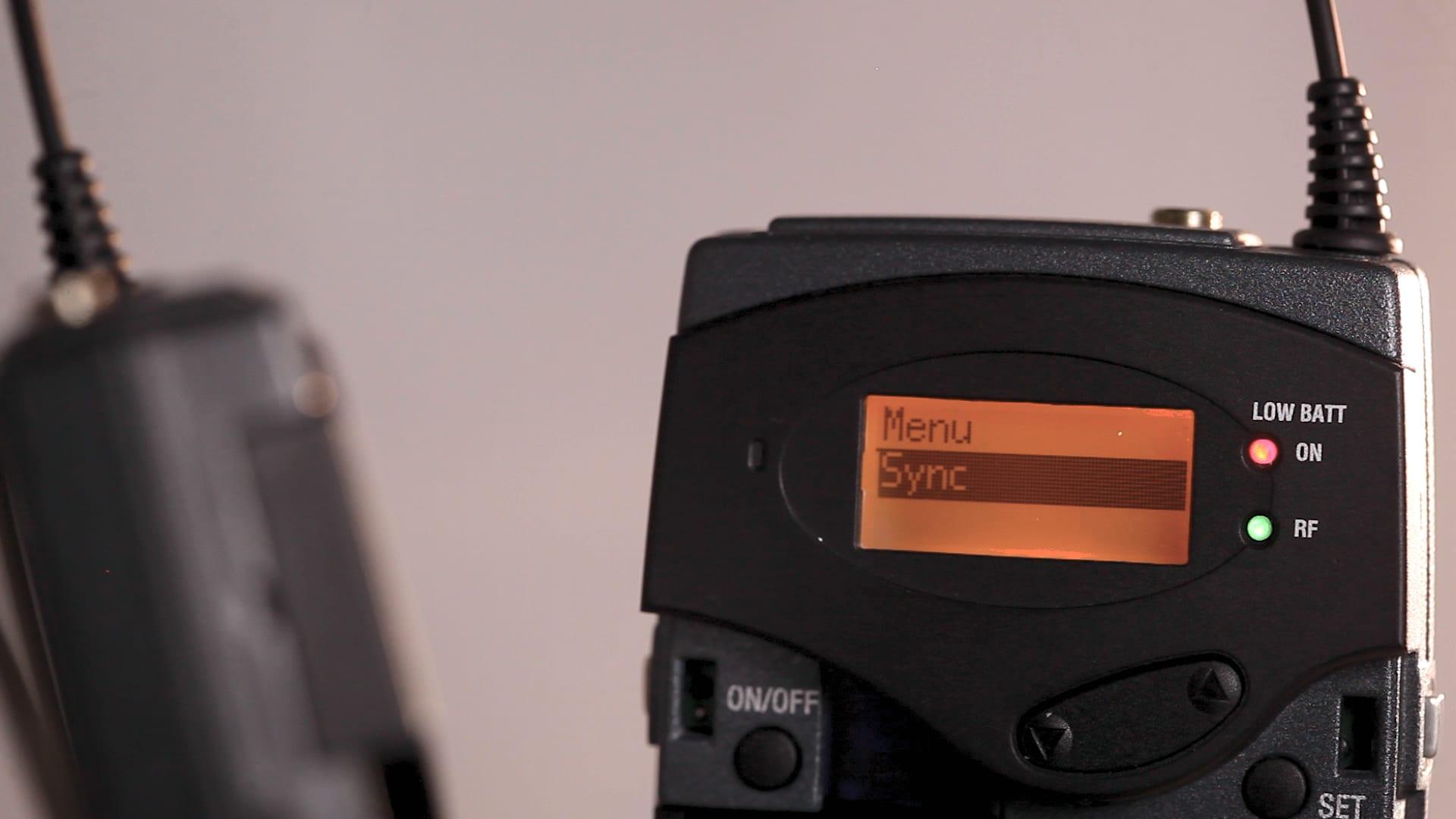 sennheiser-g3-receiver-transmitter-sync-green-light