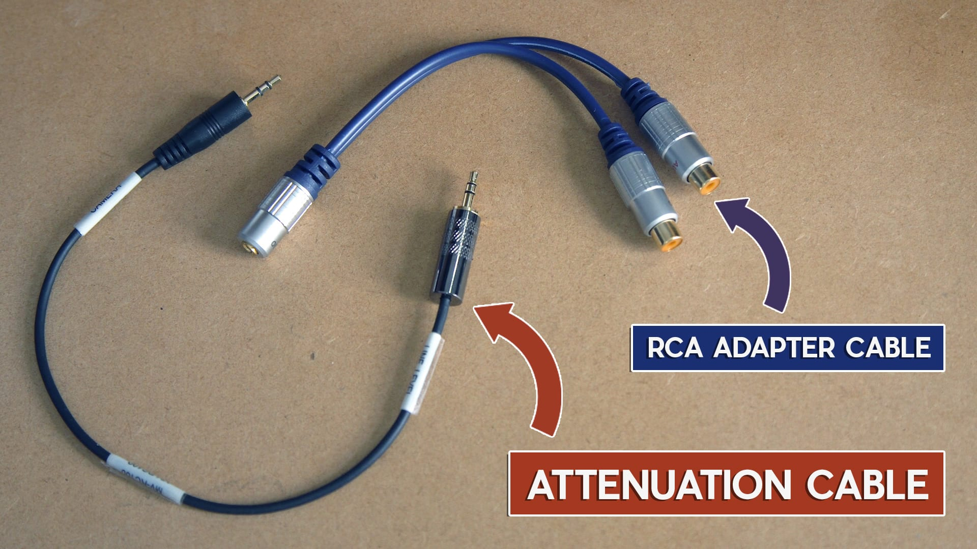 8. Connect-zoom-h1-to-mixer-RCA-cable-attenuation-cable